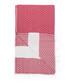 Handloom red tile pure cotton towel Sale - hamam Sale