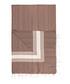 Handloom brown stripe pure cotton towel Sale - hamam Sale