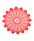 Red sun pure cotton picnic blanket Sale - hamam Sale