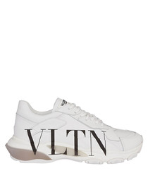 bounce white leather VLTN sneakers
