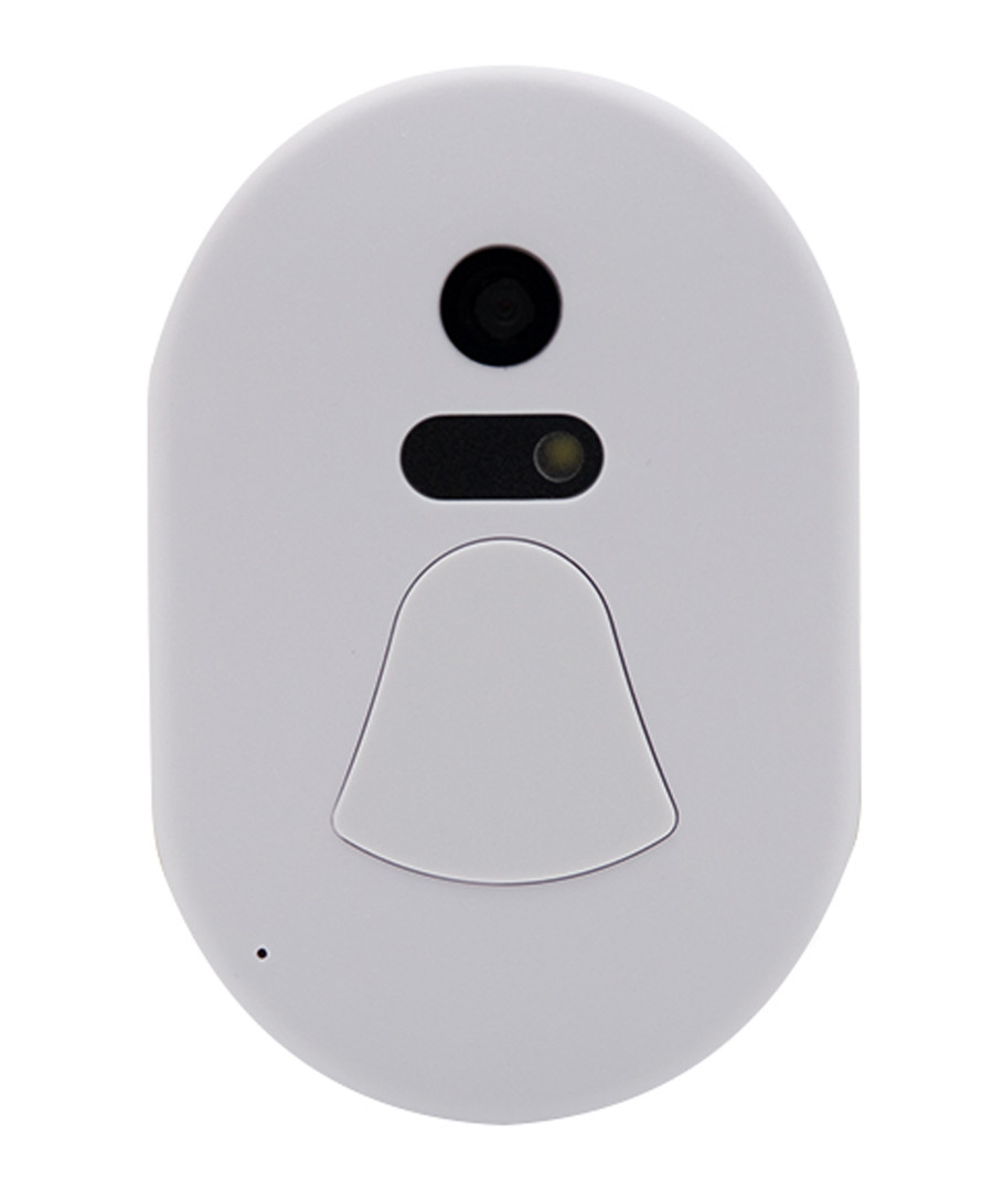 white wireless smart camera doorbell Sale - rex brown