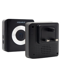 black 52 chime wifi doorbell