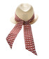 Red silk scarf trilby hat Sale - valentino garavani Sale