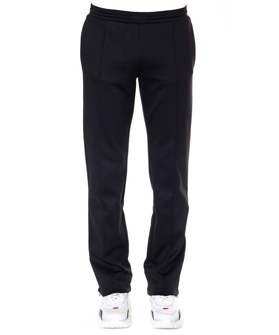 Black cotton blend relaxed trousers Sale - valentino