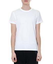 white pure cotton T-shirt