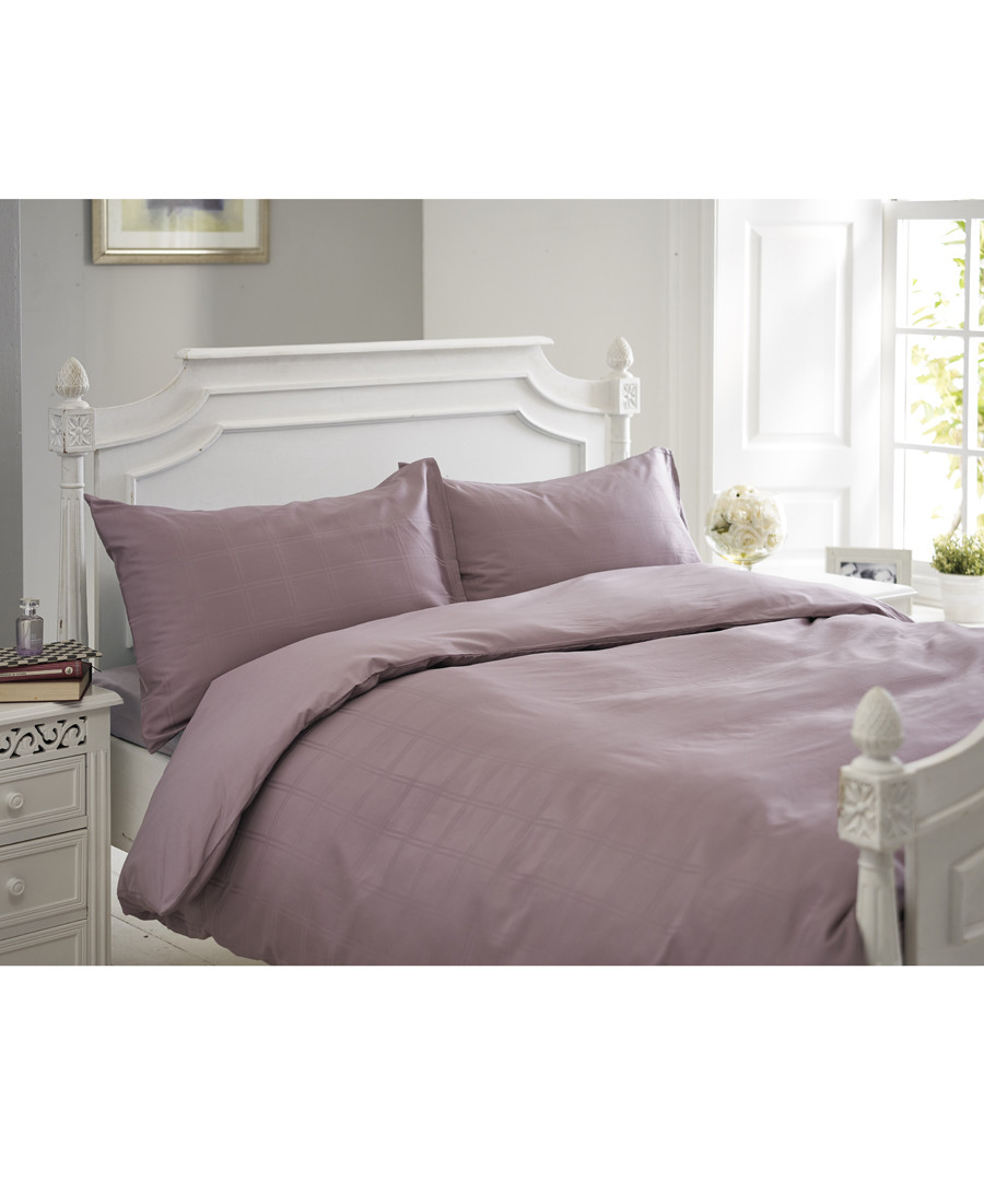 Milan raspberry king duvet set Sale - lyndon