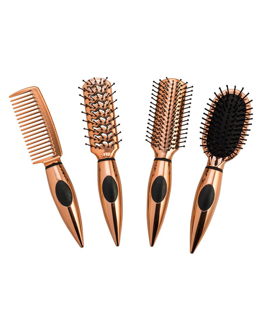 4pc Mini travel hairbrush set Sale - zoe ayla