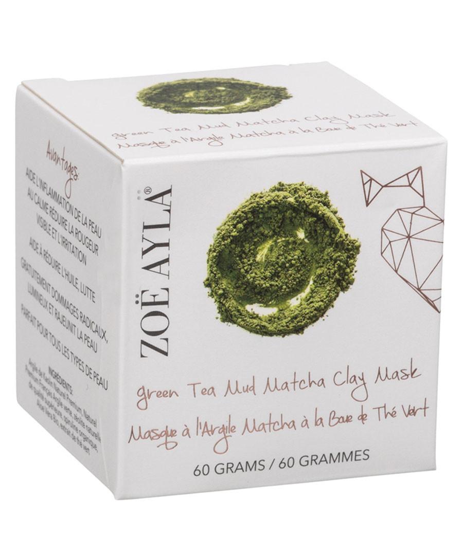Green matcha tea powder mud mask Sale - zoe ayla