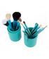 12pc Turquoise professional brush set Sale - zoe ayla Sale