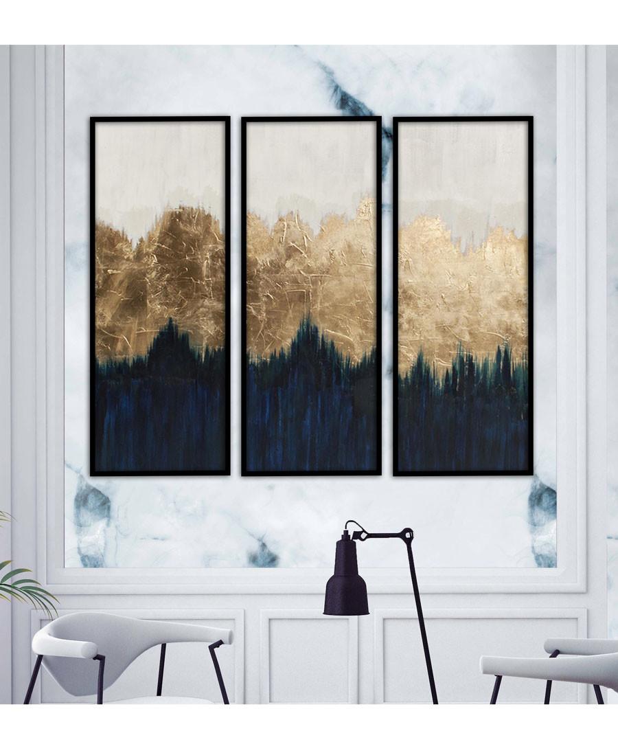 3pc Woodland wall art set Sale - modacanvas