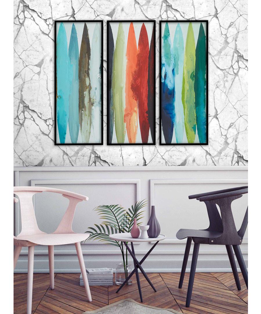 3pc Streaks wall art set Sale - modacanvas