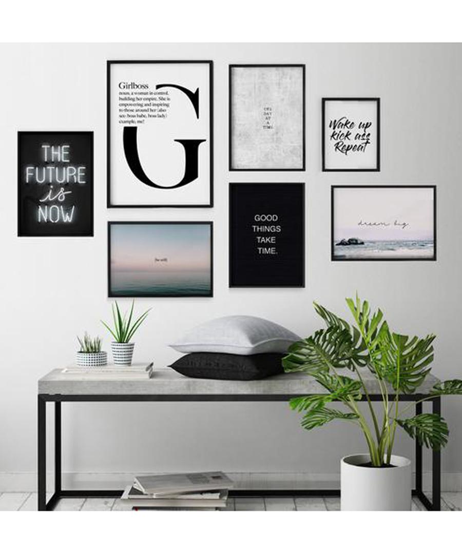 7pc G wall art set Sale - modacanvas