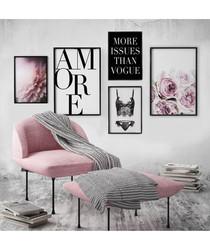 5pc Amore wall art set
