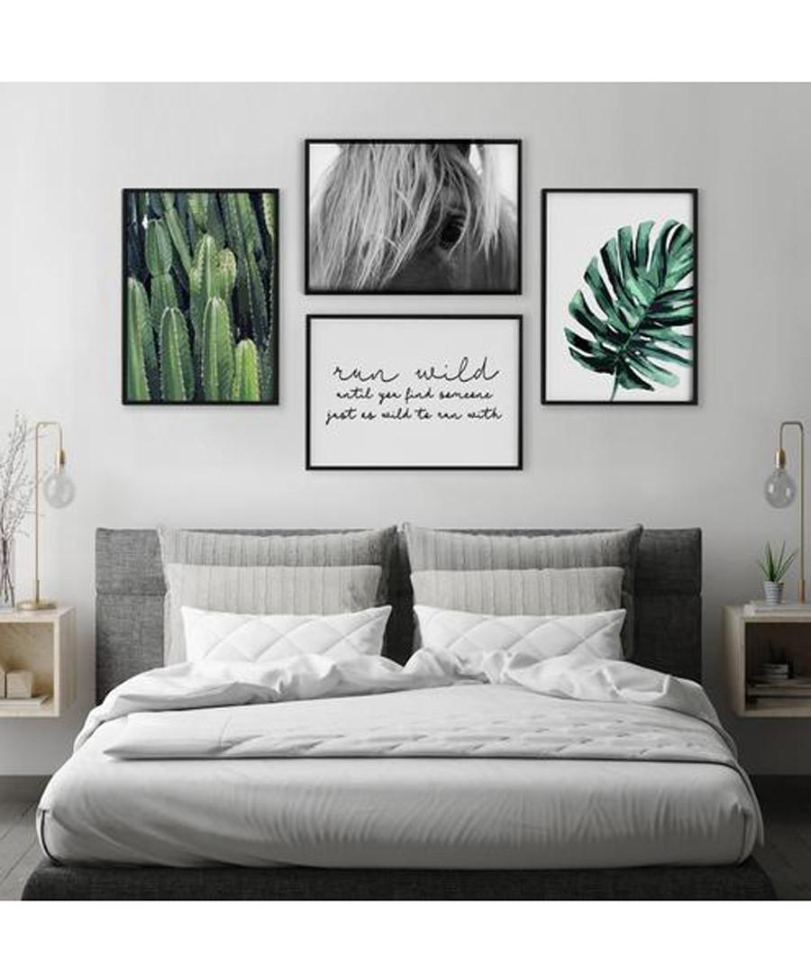 4pc Leaves III wall art set Sale - modacanvas