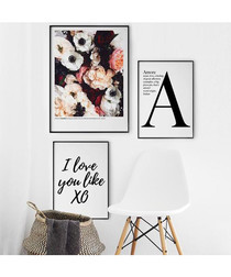 3pc A wall art set
