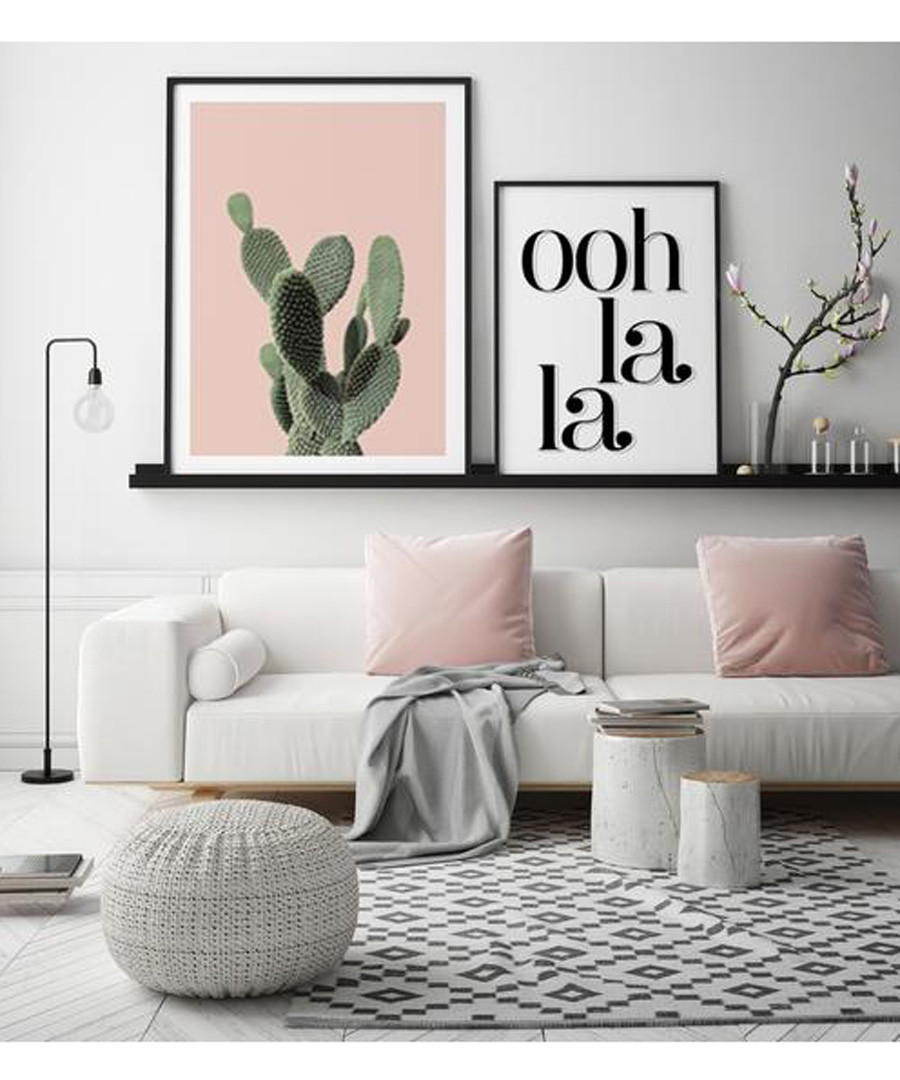 2pc Cactus wall art set Sale - modacanvas