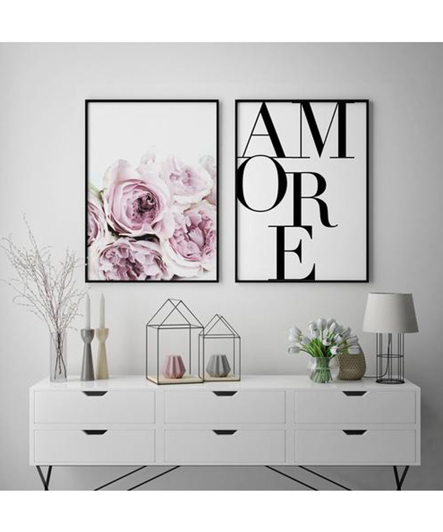2pc Amore III wall art set Sale - modacanvas