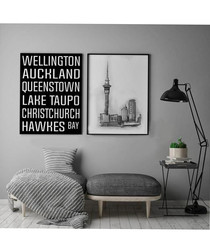 2pc New Zealand wall art set