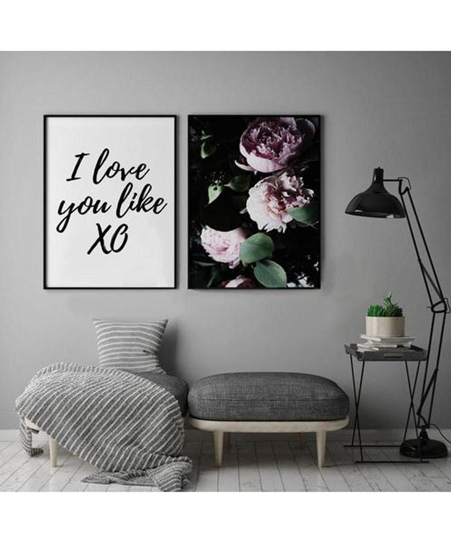 2pc Love wall art set Sale - modacanvas