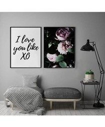 2pc Love wall art set