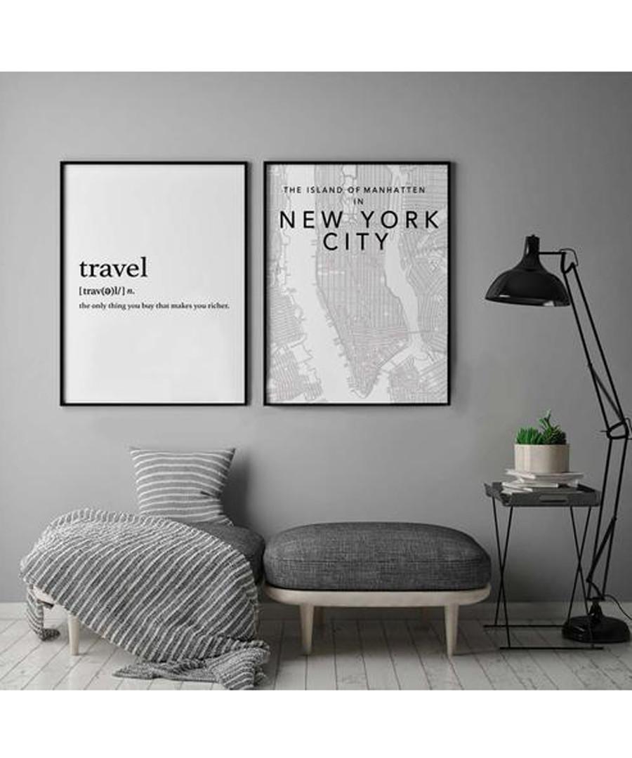 2pc Travel wall art set Sale - modacanvas