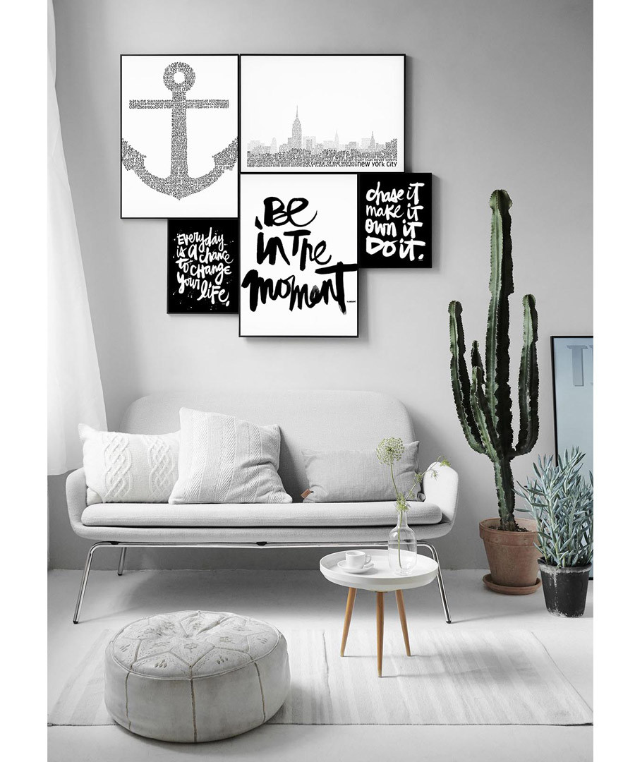 4pc Be In The Moment wall art set Sale - modacanvas
