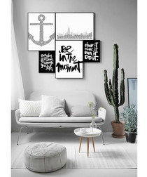 4pc Be In The Moment wall art set