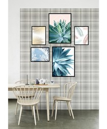 5pc Agave wall art set