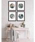 4pc Tropic Circles wall art set Sale - modacanvas Sale