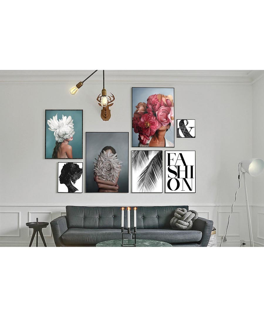 7pc Fashion II wall art set Sale - modacanvas