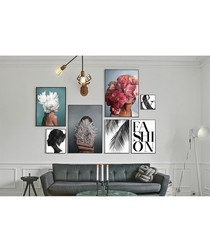 7pc Fashion II wall art set
