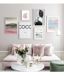 6pc Coco III wall art set