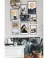 9pc Mountains II wall art set Sale - modacanvas Sale