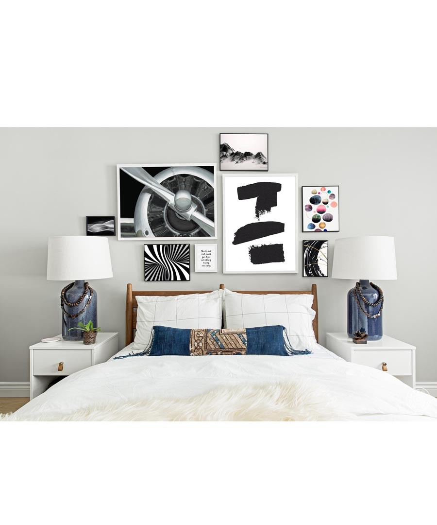 8pc Turbine wall art set Sale - modacanvas