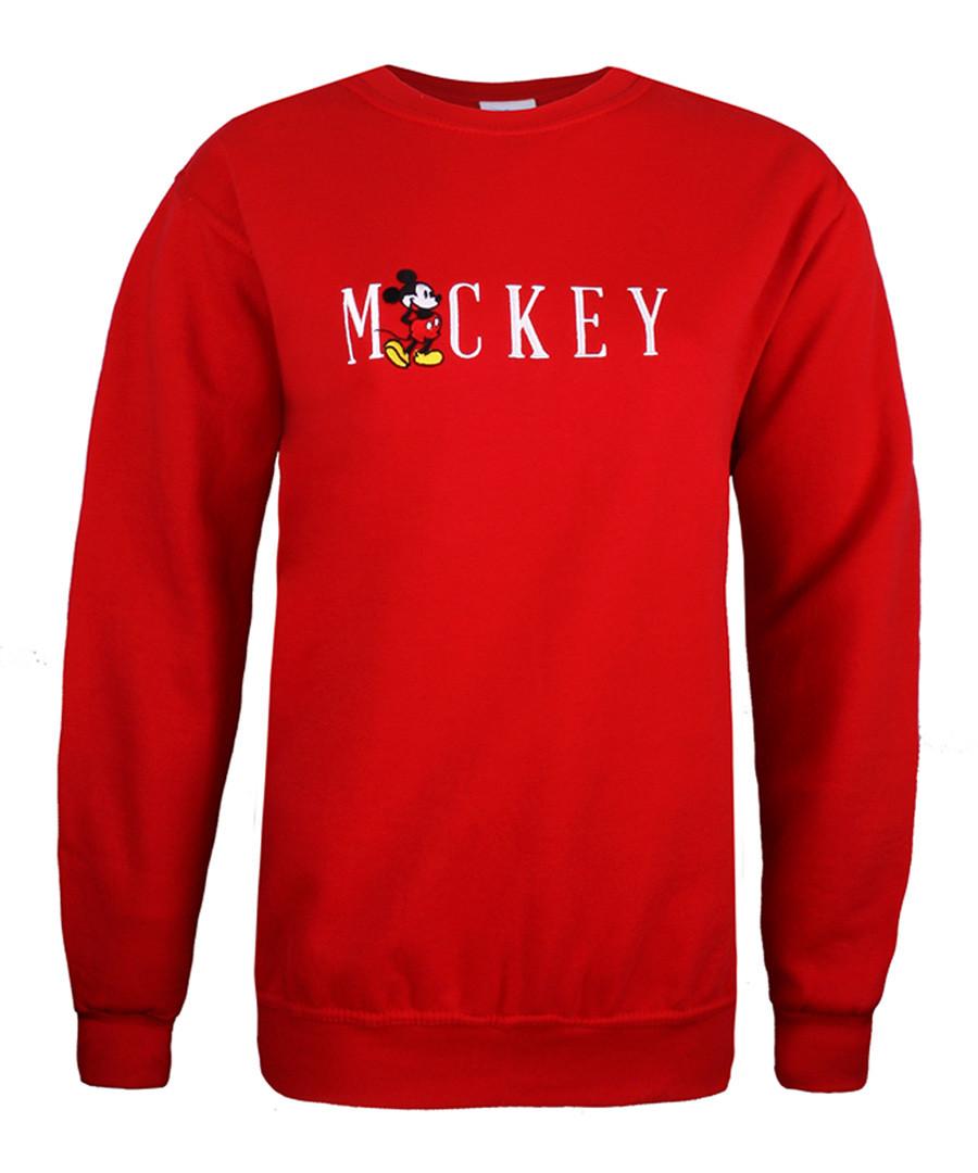 Women's Mickey red sweatshirt Sale - disney
