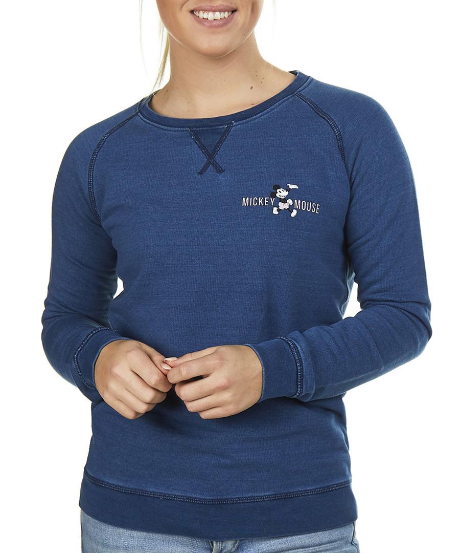 Women's Mickey indigo sweatshirt Sale - Disney