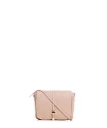 Monte Avella pink leather crossbody