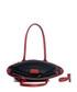 Mallero red leather shopper Sale - lia biassoni Sale