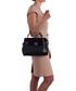 Rosa black leather grab bag Sale - lia biassoni Sale