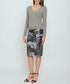 Thule grey leaf print pencil skirt Sale - bo & nic Sale