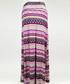 Pink stripe print maxi skirt Sale - Urban Trend Sale
