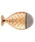 Gold-tone mermaid tail brush Sale - rex brown Sale