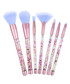 7pc Pink & lilac glitter brush set Sale - rex brown Sale