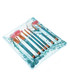 7pc Copper & turquoise glitter brush set Sale - rex brown Sale