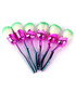6pc Pink & mint rose brush set Sale - rex brown Sale