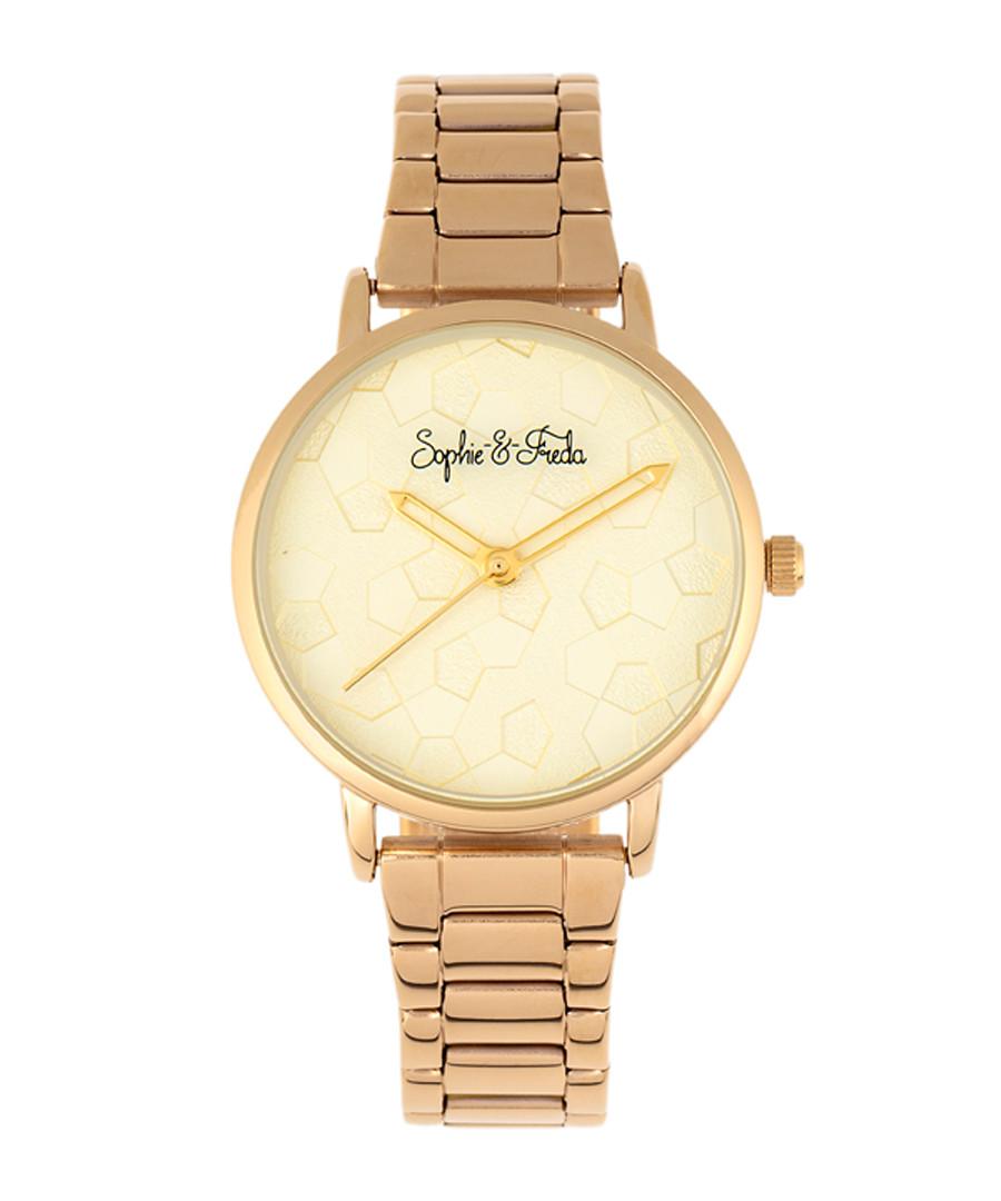Breckenridge gold-tone quartz watch Sale - sophie & freda