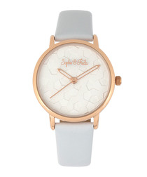 Breckenridge rose gold-tone watch