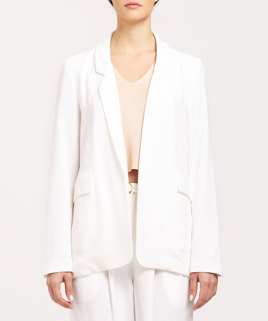 White tailored jacket Sale - paisie