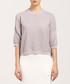 Light grey 3/4 sleeve jumper Sale - paisie Sale