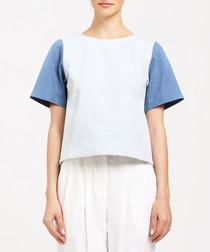 Multi-colour pure cotton T-shirt